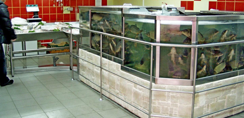 Торговые аквариумы в Молдове, Кишиневе