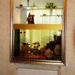Аквариум сквозной в стене в Молдове