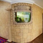 Аквариум с выгнутым лобовым стеклом Кишинев