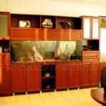 Аквариум встроенный в мебель Кишинев