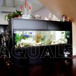 Морской аквариум встроенный в мебель в Молдове